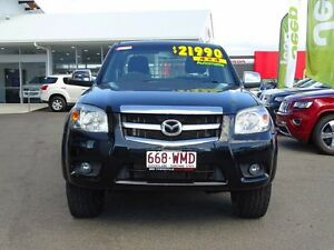 2010 Mazda BT-50 SDX Freestyle Black 5 Speed Automatic Utility Garbutt Townsville City Preview