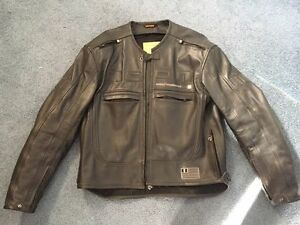 Men's Leather Icon Jacket - size L