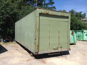 30 FOOT STORAGE CONTAINER