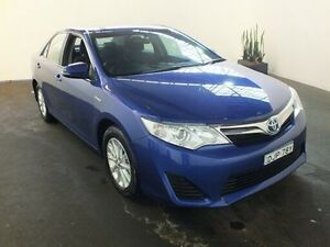 2015 Toyota Camry AVV50R Hybrid H Blue Continuous Variable Sedan Clemton Park Canterbury Area Preview