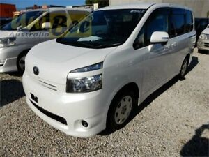 2009 Toyota Voxy ZRR70 Welcab Pearl White Constant Variable Wagon Moorabbin Kingston Area Preview