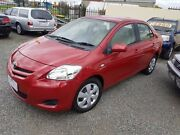 2007 Toyota Yaris NCP93R YRS Red 4 Speed Automatic Sedan Officer Cardinia Area Preview