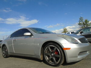 2003 INFINITI G35 COUPE SPORT PKG-NAVI-DVD-HDTV-LEATHER-SUNROOF-