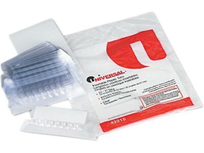 Plastic Tabs Insert 15 Cut 2 25pk Office Hanging File Folder Filing Unv42215