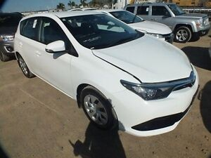 2015 Toyota Corolla ZRE182R Ascent Glacier White 7 Speed CVT Auto Sequential Hatchback Bohle Townsville City Preview