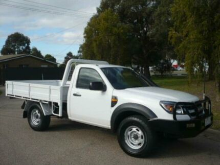 2010 Ford Ranger PK XL (4x2) White 5 Speed Manual Cab Chassis Bairnsdale East Gippsland Preview