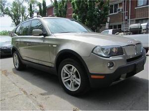 2008 BMW X3  3.0 Si / FINANCEMENT MAISON $69 SEMAINE CARSRTOYS