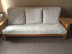 "Three Seater Double Bed Futon from ""The Futon Company"""