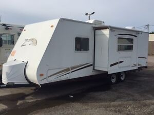2006 Keystone Zepperlin Z281 travel trailer with one slide
