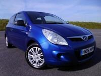 HYUNDAI i20 1.2 2009/09 Classic 3DR ONE OWNER ! LOW MILEAGE ! FSH, NEW MOT !