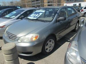 2003 Toyota Corolla CE - 5 SPEED!