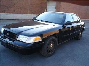 2011 Ford CROWN VIC. EX-POLICE BLK/BLK