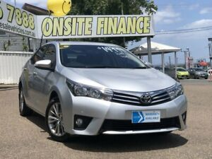 2014 Toyota Corolla ZRE172R SX S-CVT Silver 7 Speed Constant Variable Sedan Moorooka Brisbane South West Preview