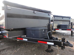 2018 RAINBOW EXCURSION 14' DUMP TRAILER