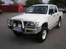 2003 Toyota Hilux VZN167R (4x4) White 5 Speed Manual Dual Cab Pick-up Victoria Park Victoria Park Area Preview