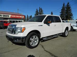 2009 Ford F-150 LARIAT PEARL  WHITE EXT
