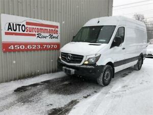 2014 Mercedes-Benz Sprinter COURT/HAUT -- GARANTIE 1AN/15000 KMS