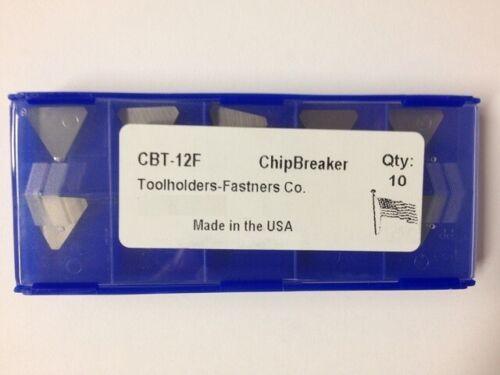 10 Pieces - CBT-12F Chip Breaker