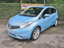Nissan Note 1.2 Acenta Premium DiG-S 5DR Auto (sonic blue) 2014
