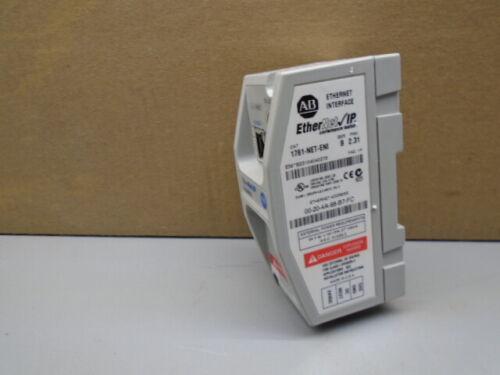 1761-NET-ENI /B Allen Bradley Ethernet Interface 1761NETENI 163B