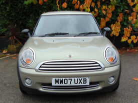 MINI HATCH ONE 1.4 ONE 3d (silver) 2007