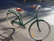 REID Vintage 6 Speed Bike Dark Green Centennial Park Eastern Suburbs Preview