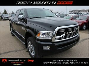 2017 Ram 3500 Limited 4x4 Crew Cab * Heated Leather
