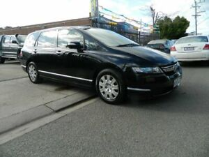 2008 Honda Odyssey 20 MY06 Upgrade Black 5 Speed Sequential Auto Wagon Williamstown North Hobsons Bay Area Preview
