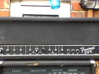 2 old solid state 100 watt guitar amp heads,working electrically safe.Swap for old guitar