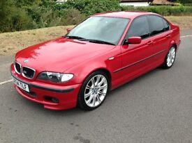 BMW 3 Series 318i SPORT 4 dr (imola red) 2004