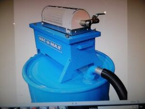 Industrial Compressed Air Vacuum Cleaner No Electricity Req'd Br
