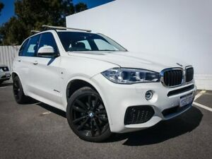 2016 BMW X5 F15 xDrive30d White 8 Speed Sports Automatic Wagon Maddington Gosnells Area Preview