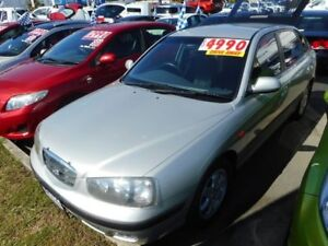 2002 Hyundai Elantra XD GLS Silver 4 Speed Automatic Hatchback