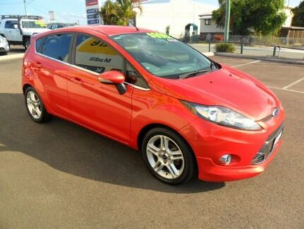 2011 Ford Fiesta WT Zetec Chilli Orange 5 Speed Manual Hatchback