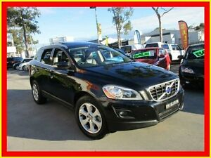2009 Volvo XC60 DZ MY09 T6 Black Auto Sports Mode Wagon North Parramatta Parramatta Area Preview