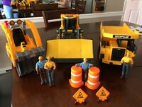 Work Trucks and figurines - GREAT GIFT