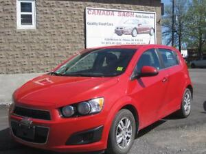 2013 CHEVROLET SONIC AUTO,PWR  88km !! 12M.WRTY+SAFETY $7990