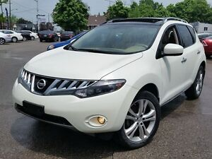 2009 Nissan Murano LE WOW BIG SUNROOF LEATHER NO ACCIDENTS