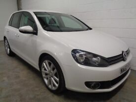 VOLKSWAGEN GOLF GT DIESEL , 2010 *FINANCE AVAILABLE * ONLY 42000 MILES +HISTORY* YEARS MOT, WARRANTY