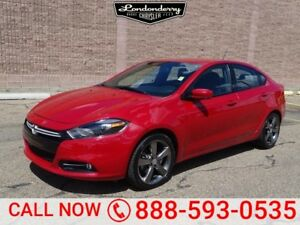 2015 Dodge Dart GT Leather,  Heated Seats,  Back-up Cam,  Blueto
