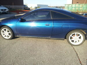 2000 Toyota Celica Coupe (2 door) Part Only