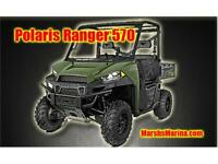 2015 Polaris Ranger 570 Side by Side UTV - FULL SIZE