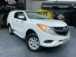 2015 Mazda BT-50 UP0YF1 XTR White 6 Speed Sports Automatic Utility Campbelltown Campbelltown Area Preview