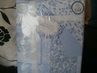 BHS New King Size Duvet Cover with Matching Pillowcases, Patchwork Design Great Quality £25