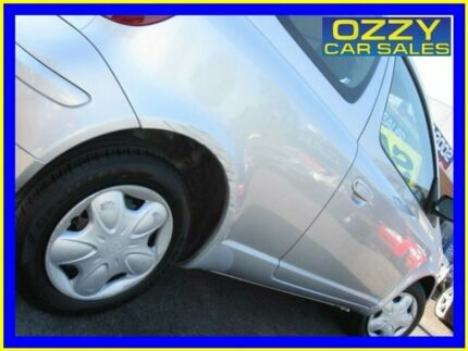 2005 Toyota Echo NCP10R Silver 4 Speed Automatic Hatchback