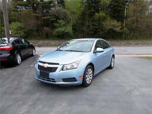 2011 CHEVROLET CRUZE LT...LOADED!! ONLY $99 BI-WEEKLY (O.A.C)
