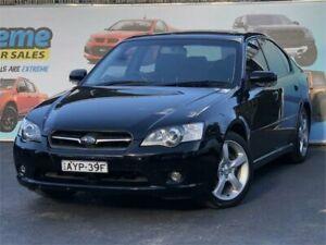 2006 Subaru Liberty B4 MY06 Premium Pack Black Sports Automatic Sedan Campbelltown Campbelltown Area Preview