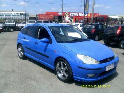 2003 Ford Focus LR Zetec Blue 4 Speed Automatic Hatchback