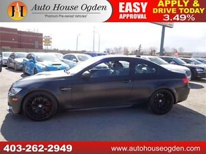 2011 BMW M3 SMG NAVI RIMS MATT BLACK