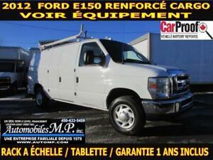 2012 Ford E-150 RENFORCÉ CARGO VOIR ÉQUIPEMENT